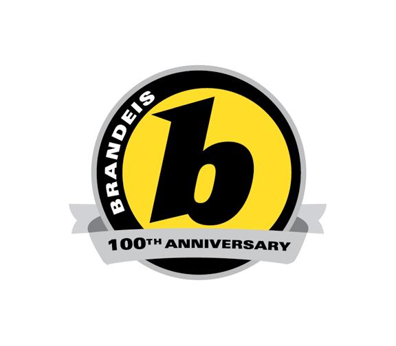 Brandeis 100th Anniversary Logo
