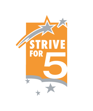 UT Strive For Five Logo
