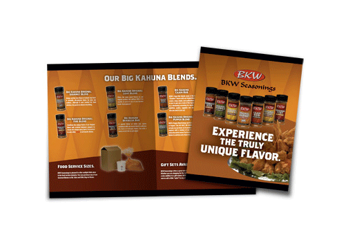BKW Seasonings Product Brochure