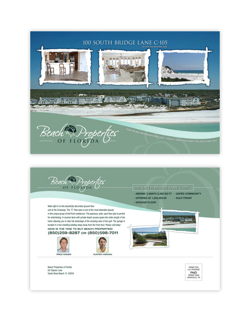 Beach Properties of Florida Direct Mail