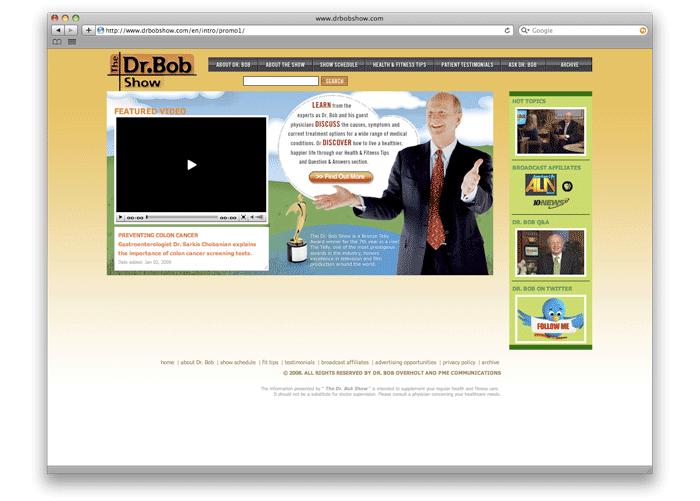 Dr. Bob Show Web
