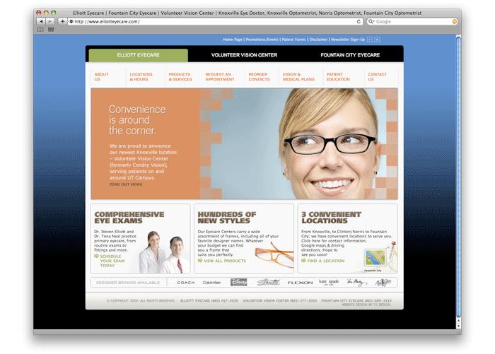 Elliott Eyecare Web