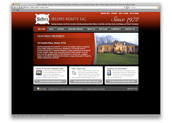 Sellers Realty Web