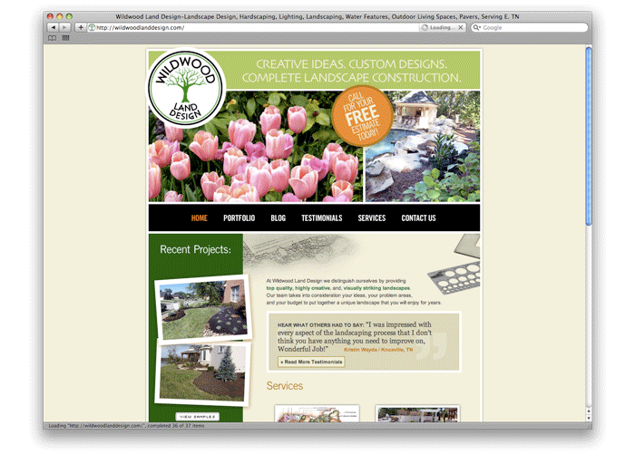 Wildwood Land Design Web