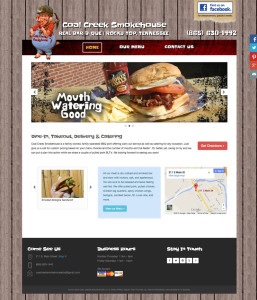 Coal Creek Smokehouse Website
