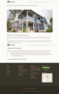 Envision Builders Group Website